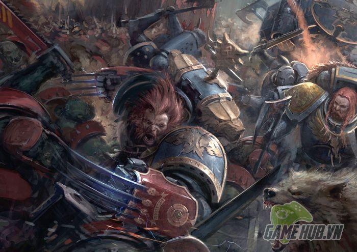 Wulfen - Những con ma sói đúng nghĩa của Warhammer 40K - ảnh 1