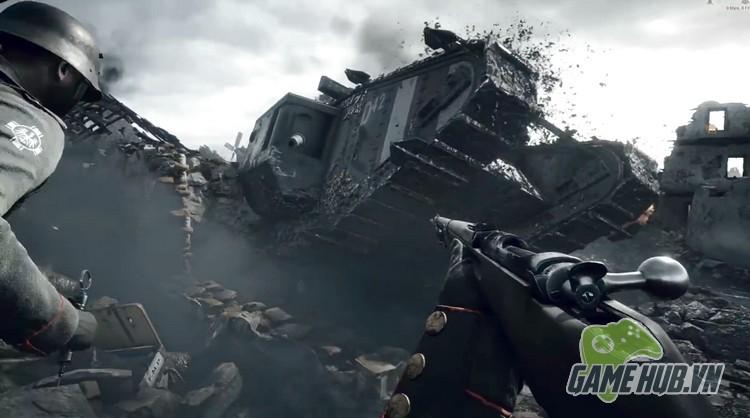 Xóa sạch giao diện, gamer cho Battlefield 1 đẹp ngang đời thật - ảnh 1