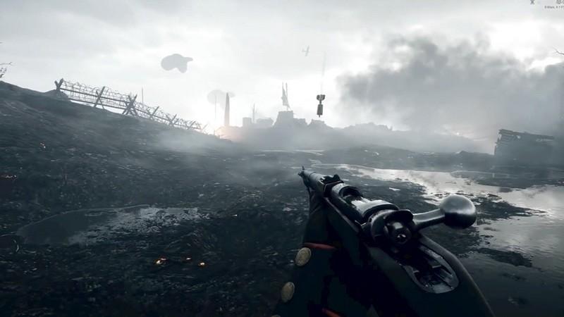 Xóa sạch giao diện, gamer cho Battlefield 1 đẹp ngang đời thật