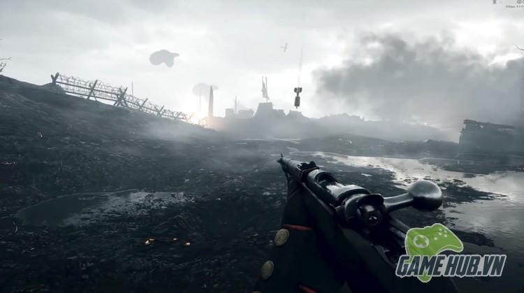 Xóa sạch giao diện, gamer cho Battlefield 1 đẹp ngang đời thật - ảnh 2