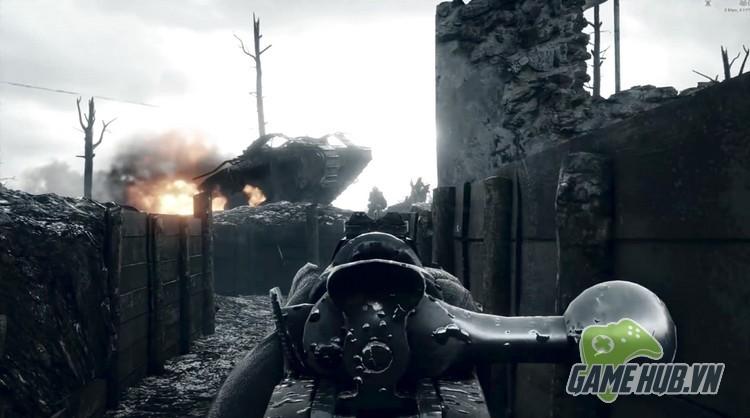 Xóa sạch giao diện, gamer cho Battlefield 1 đẹp ngang đời thật - ảnh 4