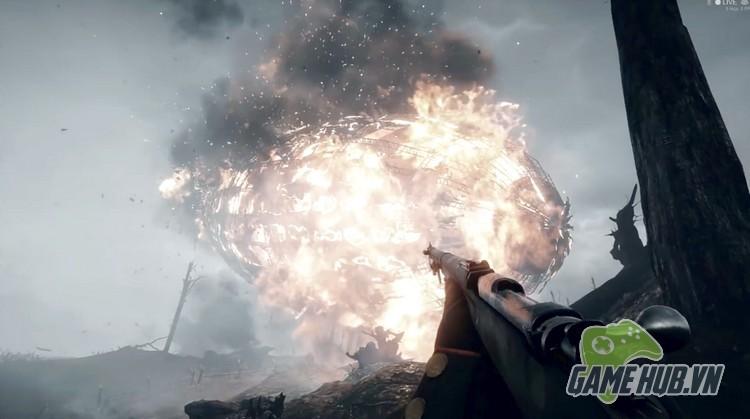 Xóa sạch giao diện, gamer cho Battlefield 1 đẹp ngang đời thật - ảnh 6