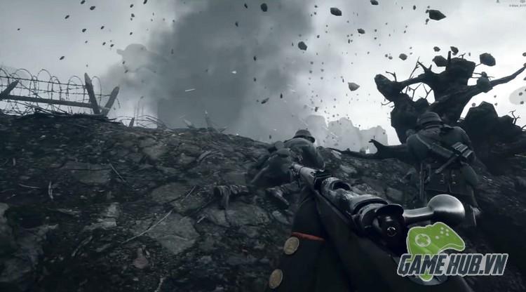 Xóa sạch giao diện, gamer cho Battlefield 1 đẹp ngang đời thật - ảnh 3