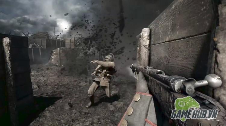 Xóa sạch giao diện, gamer cho Battlefield 1 đẹp ngang đời thật - ảnh 5