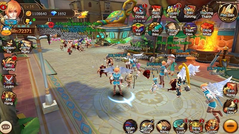 Đánh giá siêu phẩm game mobile 34 Chiến Ký ngày đầu ra mắt
