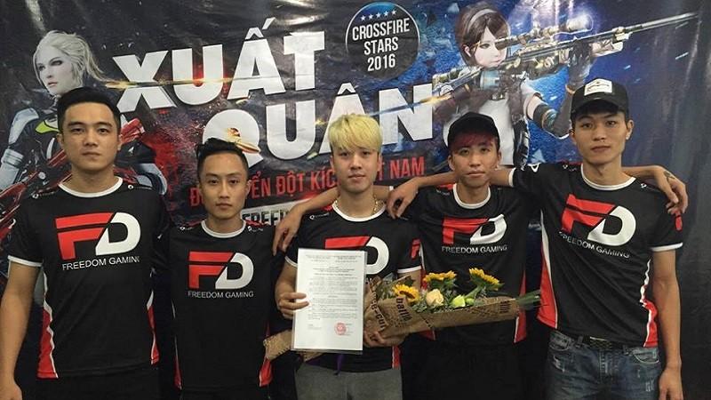 Đội tuyển eSports Đột Kích xuất quân tham dự vòng chung kết thế giới CFS 2016