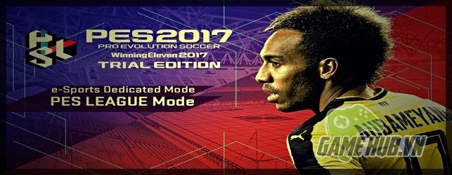 Konami ra mắt bản chơi thử miễn phí PES 2017 Trial Edition - ảnh 1