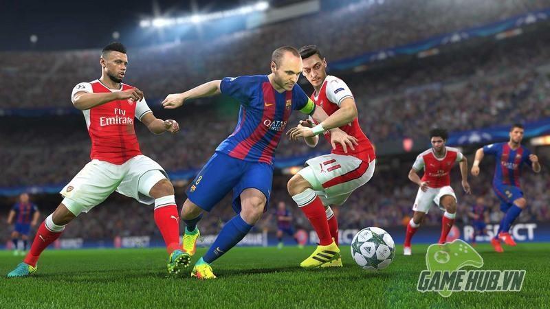 Konami ra mắt bản chơi thử miễn phí PES 2017 Trial Edition - ảnh 4