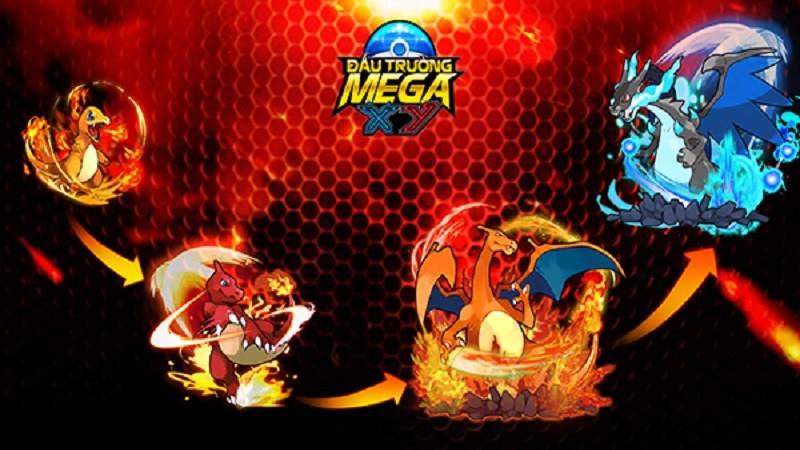 Fan Pokemon sẽ được chiêm ngưỡng tiến hoá Mega trong Đấu Trường Mega XY