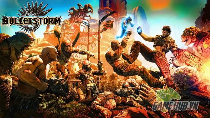 Bulletstorm - Siêu phẩm FPS không ai chơi trở lại với Trailer ngập ngụa bom đạn - ảnh 1