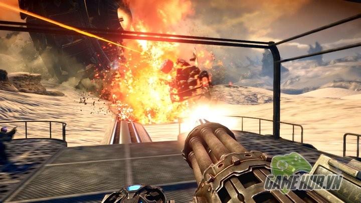Bulletstorm - Siêu phẩm FPS không ai chơi trở lại với Trailer ngập ngụa bom đạn - ảnh 2