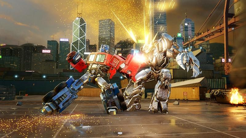 Transformers - Đại chiến Robot mang siêu phẩm đồ họa lên Mobile