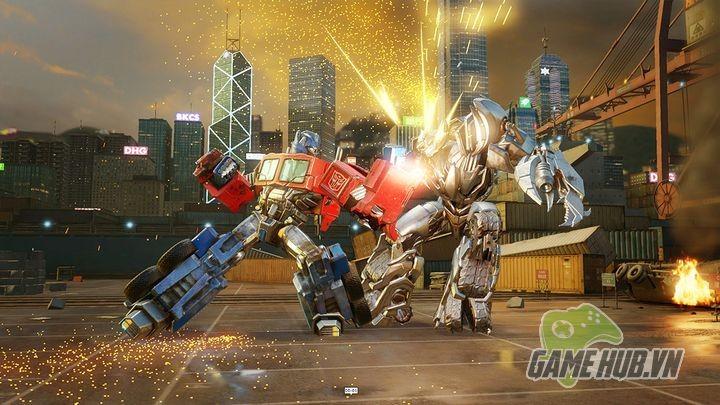 Transformers - Đại chiến Robot mang siêu phẩm đồ họa lên Mobile - ảnh 3