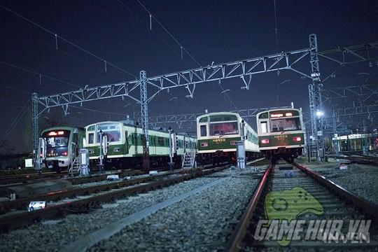 Hàn Quốc cực chịu chơi khi thiết kể hẳn chuyến tàu điện Hearthstone - ảnh 1