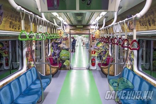 Hàn Quốc cực chịu chơi khi thiết kể hẳn chuyến tàu điện Hearthstone - ảnh 12