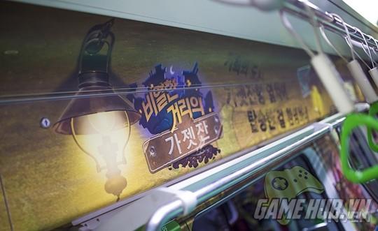 Hàn Quốc cực chịu chơi khi thiết kể hẳn chuyến tàu điện Hearthstone - ảnh 5