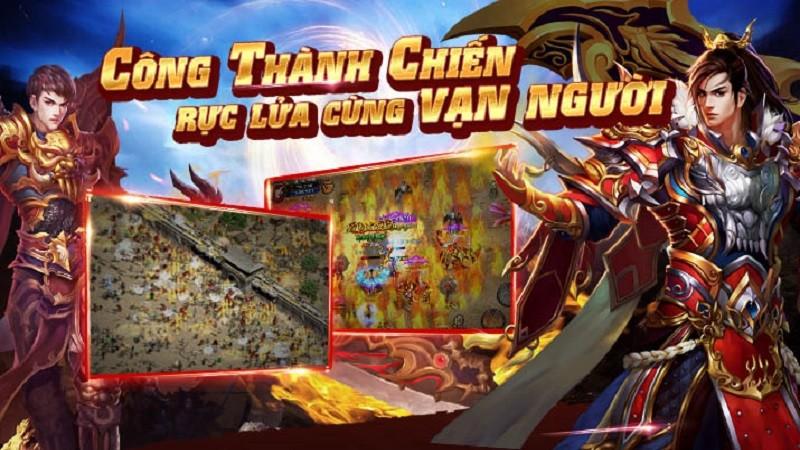 Loạn Chiến Sa Thành tái hiện 7 tính năng game online 8x, 9x