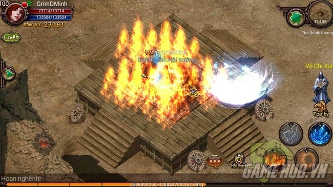 Loạn Chiến Sa Thành tái hiện 7 tính năng game online 8x, 9x - ảnh 4