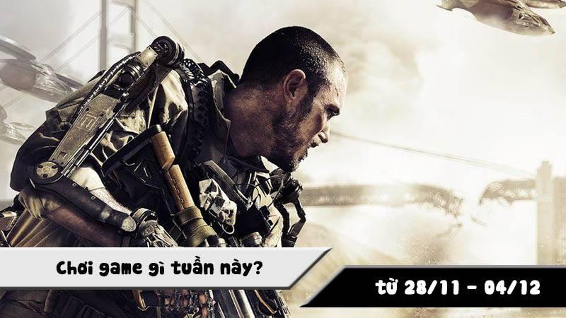Chơi game gì tuần này? (từ 28/11- 04/12)