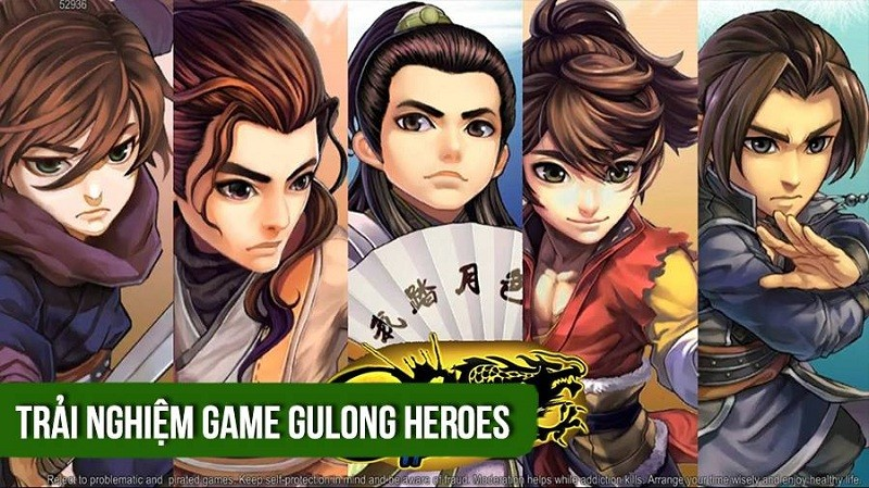 Trải nghiệm game Gulong Heroes - ARPG Cổ Long