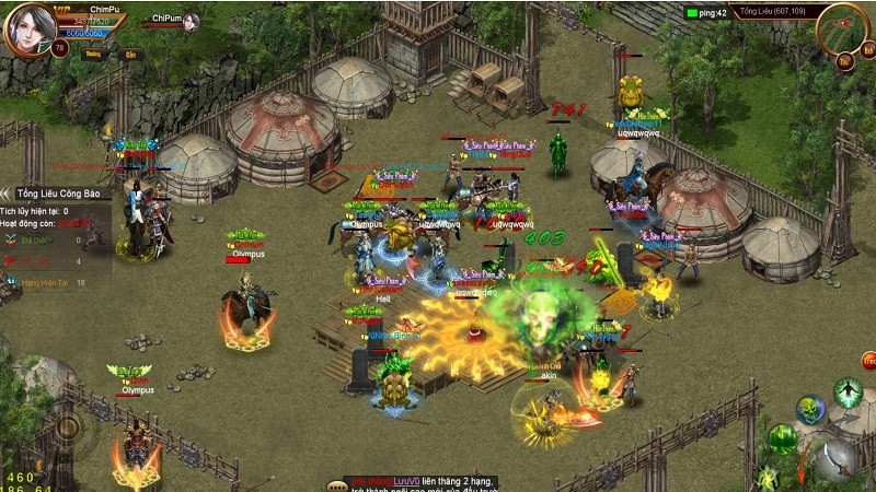Phong Hỏa Liên thành Mobile - Gợi lại ký ức của hàng triệu game thủ
