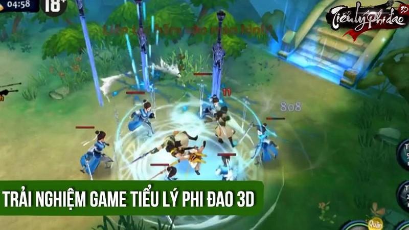 Trải nghiệm Tiểu Lý Phi Đao 3D - VTC Mobile