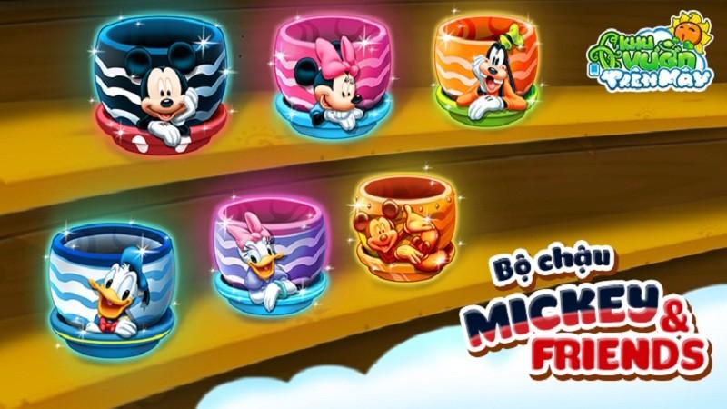 Khu Vườn Trên Mây - Giới trẻ sôi sục săn lùng bộ sưu tập Frozen, Moana, Mickey