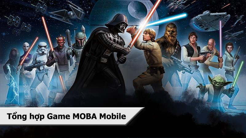 Tổng hợp Game MOBA Mobile nửa cuối 2016