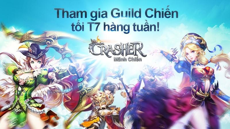 """Crasher cập nhật phiên bản """"VUI NOEL"""", tặng CODE khủng chiêu đãi Giáng Sinh"""