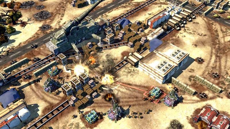 War Commander - Bom tấn chiến thuật mang bão đồ họa lên Mobile