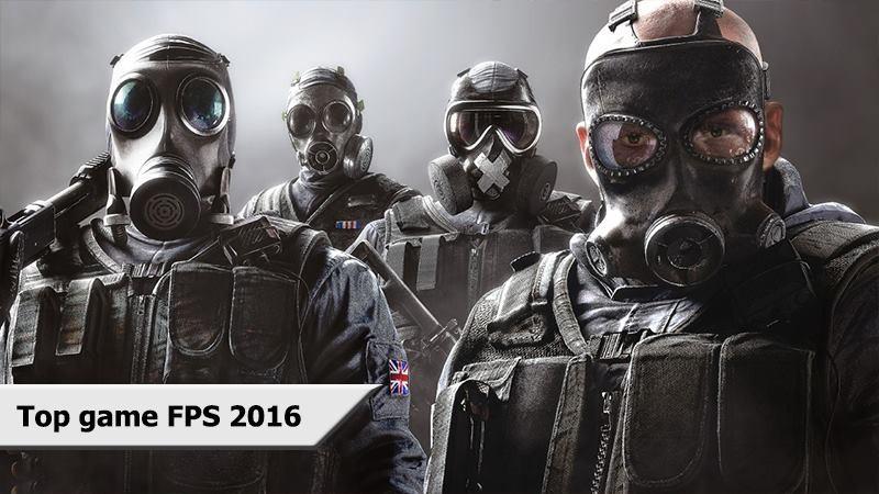 Tổng hợp Top game FPS khủng nhất năm 2016