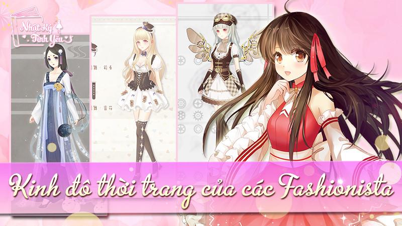 Game thủ Nhật Ký Tình Yêu đua nhau show hàng thời trang cực chất