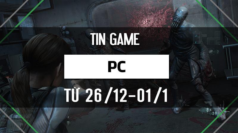 Điểm tin Game PC tuần 4 tháng 12/ 2016