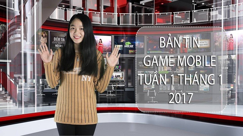 Bản tin Game Mobile tuần 1 tháng 1/2017