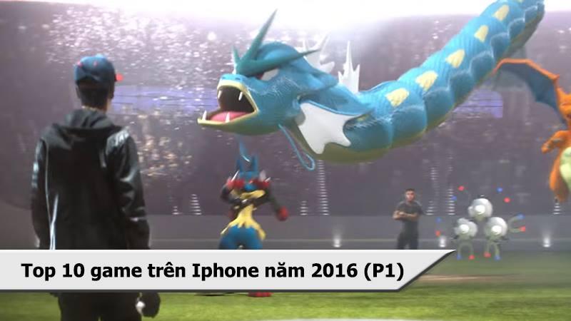 Top 10 game mobile hay chơi nhiều trên iPhone...