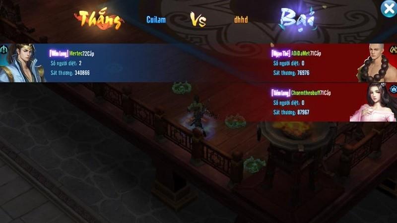 Hoa Sơn Luận Kiếm khiến game thủ Võ Lâm Truyền Kỳ Mobile điêu đứng