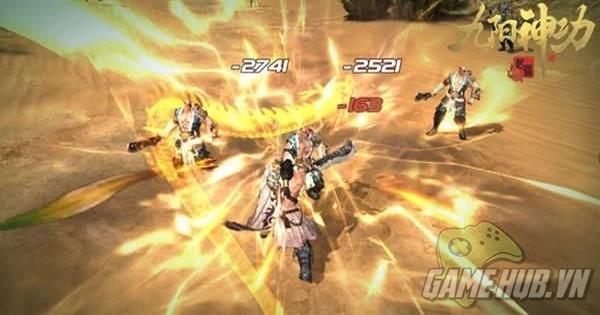 Cửu Dương Khởi Nguyên vung đao đấu kiếm lần đầu trên Android - ảnh 4