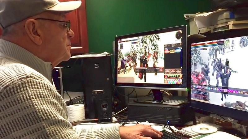 Cộng đồng mở chiến dịch tìm game cho cụ ông 74 tuổi