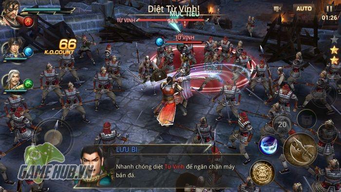 Tải ngay Dynasty Warriors: Unleashed - Tam Quốc Mobile siêu khủng tại đây - ảnh 7