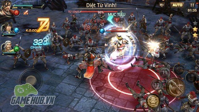 Tải ngay Dynasty Warriors: Unleashed - Tam Quốc Mobile siêu khủng tại đây - ảnh 4