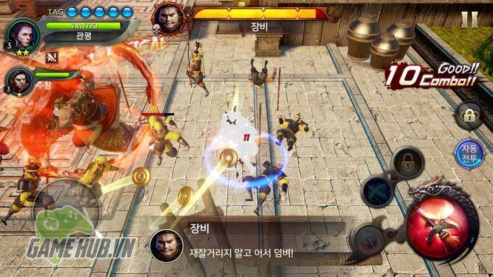 Chiến ngay Three Kingdoms Blade - Tam Quốc Mobile đồ họa siêu khủng - ảnh 3