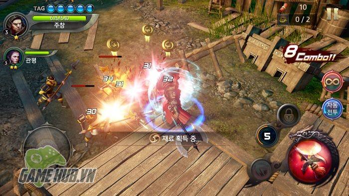 Chiến ngay Three Kingdoms Blade - Tam Quốc Mobile đồ họa siêu khủng - ảnh 5
