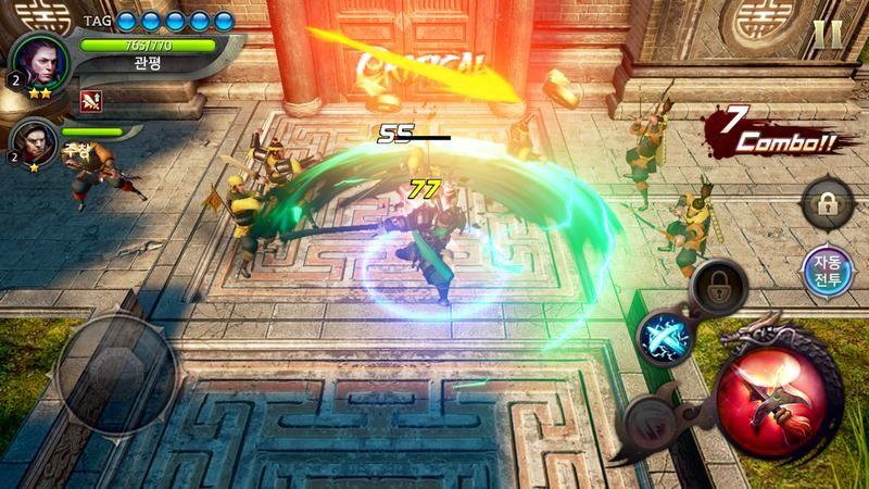 Chiến ngay Three Kingdoms Blade - Tam Quốc Mobile đồ họa siêu khủng