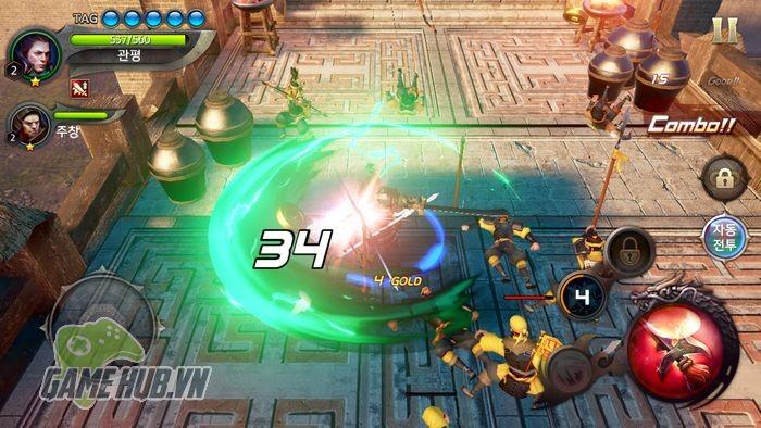 Chiến ngay Three Kingdoms Blade - Tam Quốc Mobile đồ họa siêu khủng - ảnh 2