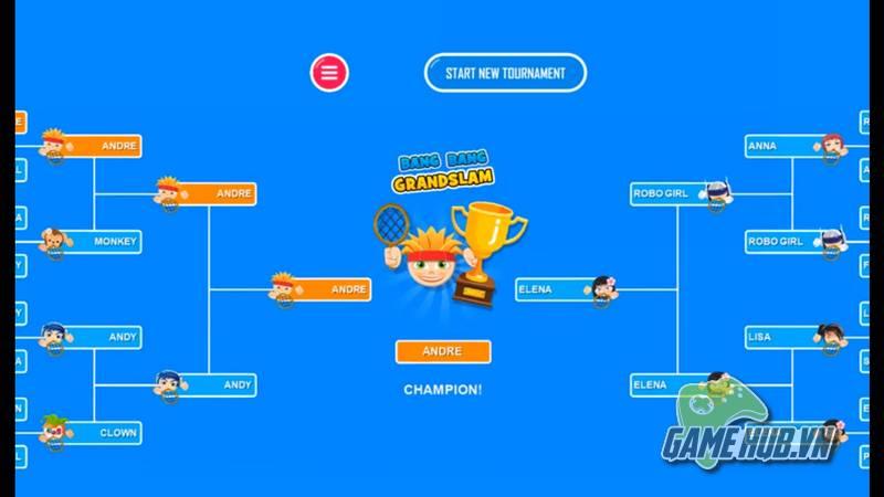 Bang Bang Tennis - Đấu Tennis online với game siêu nhộn Mobile - ảnh 5