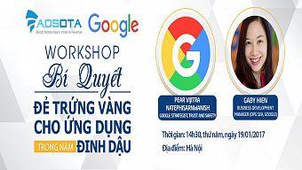 adsota, di động, google, mobile app, publishers, quảng cáo