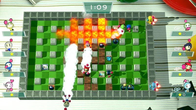 Super Bomberman R - Sự hồi sinh của Game đặt bom huyền thoại là đây