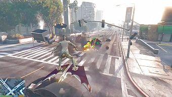 GTA 5 lại có Mod dị - Mang đại ác nhân của Spider Man vào game