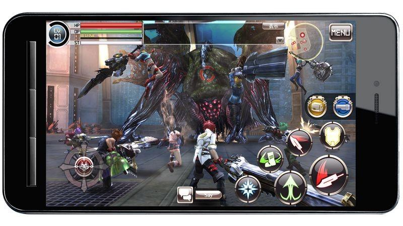 God Eater Online - Quái vật Mobile cho 100 gamer combat cùng lúc?