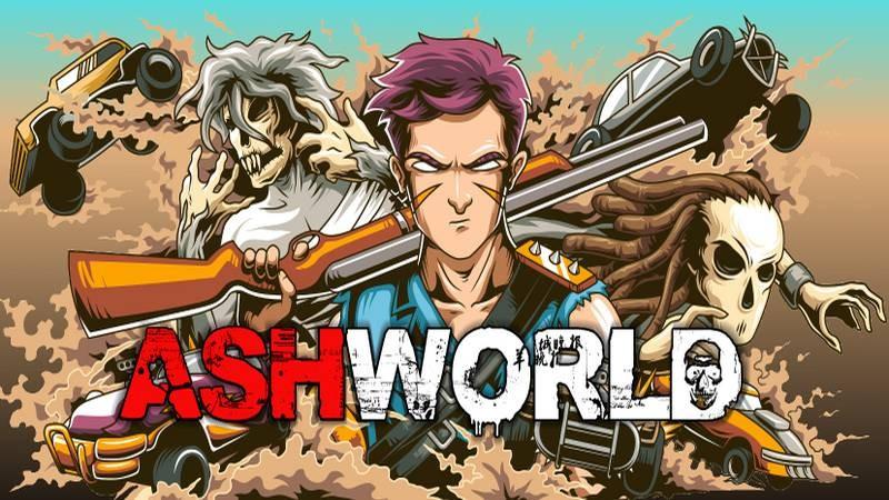 Ashworld - Xả đạn và chặt chém điên cuồng với Game chuẩn 4 nút